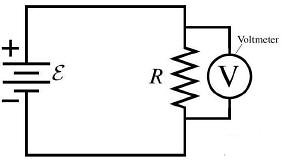 Voltmeter Connection in Circuit