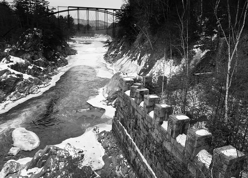 morning bridge winter bw snow mill abandoned water monochrome river landscape ruins nh e30 zd1260