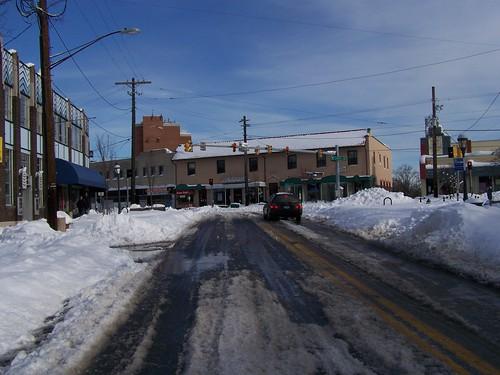 Carroll Avenue @ Eastern Avenue, Takoma Park, Maryland