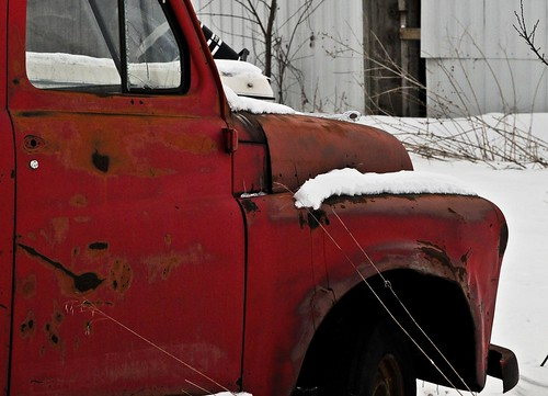 Old Red Dodge