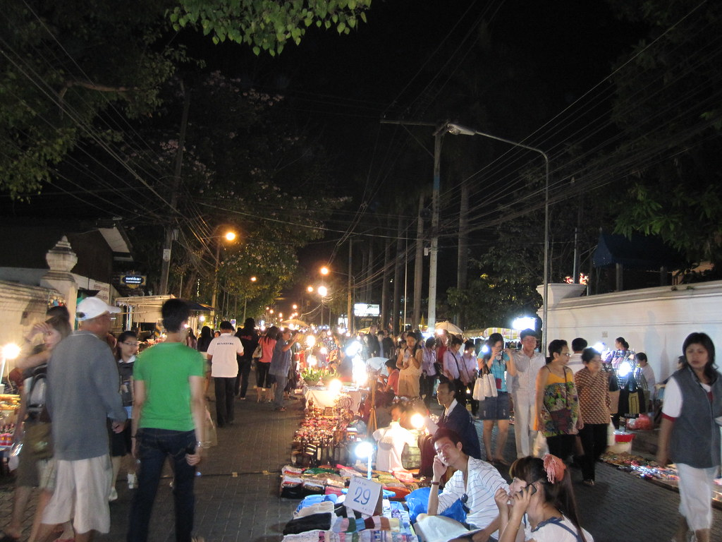 Night Festival, Chiang Mai, Thailand