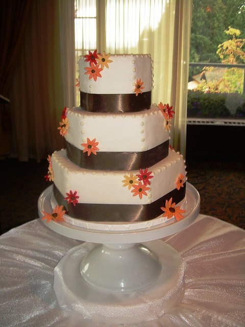 Fall Color Wedding Cake Vancouver B C Flickr