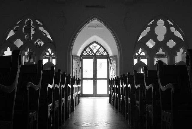 play of light in santhome church