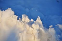 montagne de neige