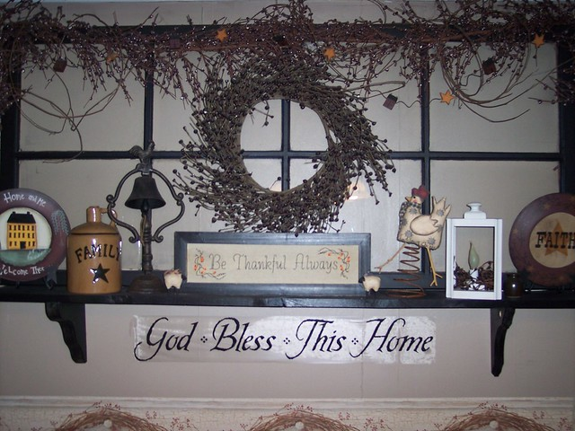 Country Decorating Old Window Flickr Photo Sharing