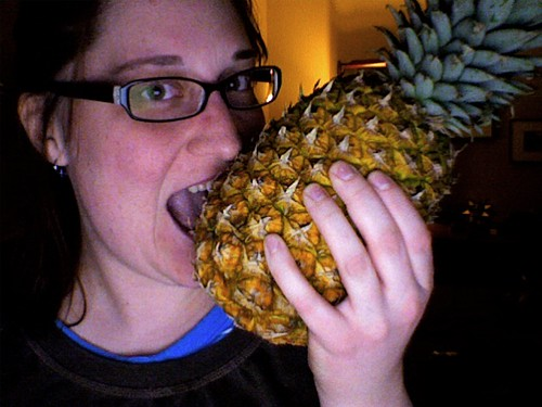 I felt the need to illustrate my incredible love for pineapples.