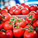 Vine ripened tomatoes by tibchris