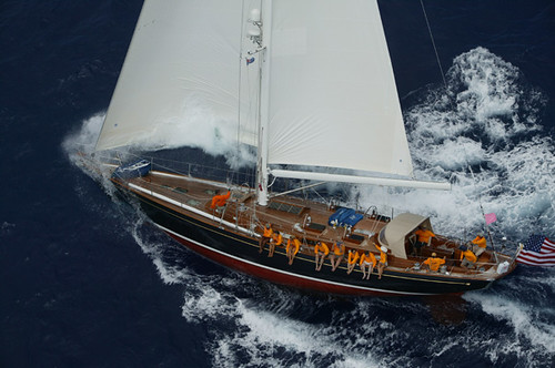 Each 70 is built to order: sloop or ketch, aft cabin or center cockpit, ...