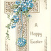 Vintage postcard, Easter greetings