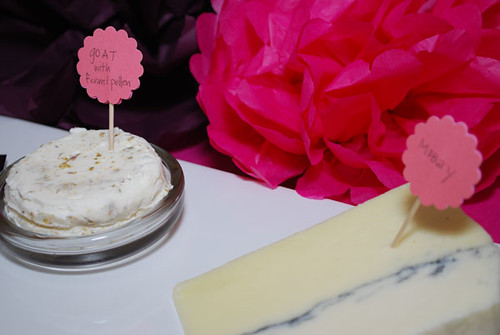 Baby Shower Food Ideas - Cheese Platter