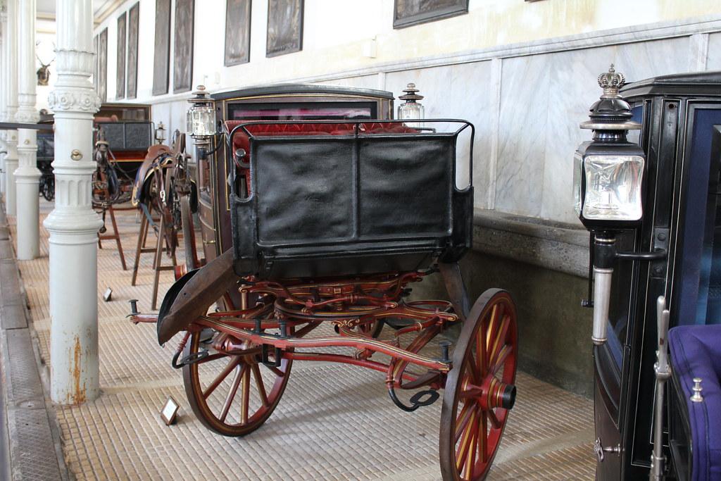 Kutsche im Marstall Museum