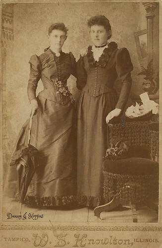 Two Ladies From The 1800's.