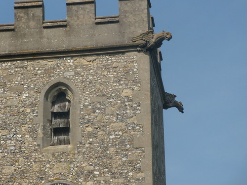 Gargoyles, All Saints, Buckland