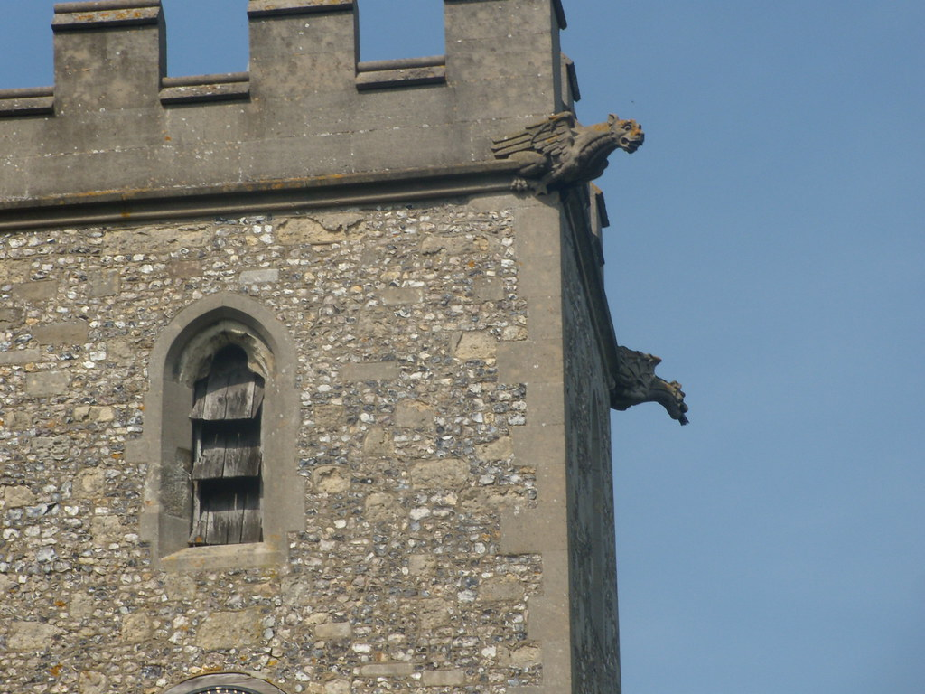 Gargoyles, All Saints, Buckland Tring to Wendover