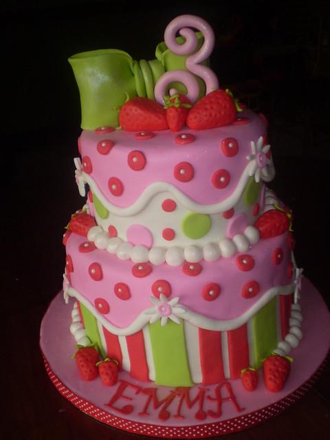 Images Of Strawberry Shortcake Cake : Strawberry Shortcake Cake Flickr - Photo Sharing!