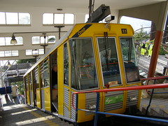 Unique funicular railway in Como