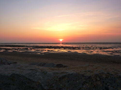 Sunset On Beach 13