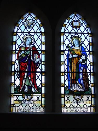 Patrick church St John and St Catherine