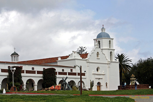 Mission San Luis Rey by Gypsy Mom