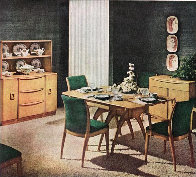 1950s Heywood Wakefield Dining Room Flickr Photo Sharing