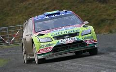 Khalid Al Qassimi - Ford Focus RS WRC Wales Rally GB 2009 - Myherin