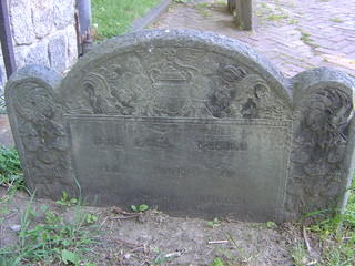 Gravestone Carving, Copp's Hill Burying Ground, Boston, MA