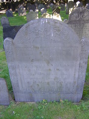 Gravestone Carving, King's Chapel Burying Ground, Boston, MA