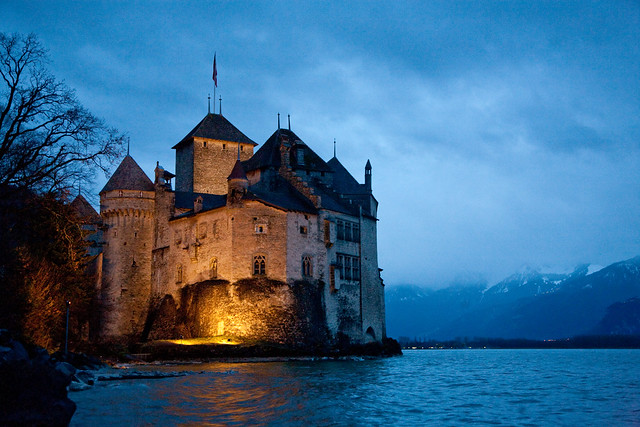 Castle Of Chillon Flickr Photo Sharing
