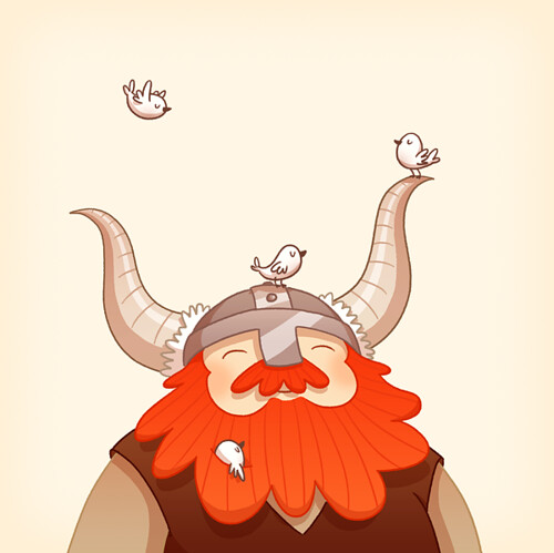 Happy Viking