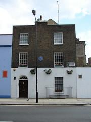 Photo of Benjamin Robert Haydon and John Charles Felix Rossi blue plaque