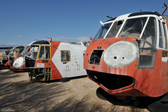 3x Sikorksy HH-3F USCG