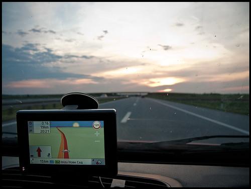 GPS Sunset