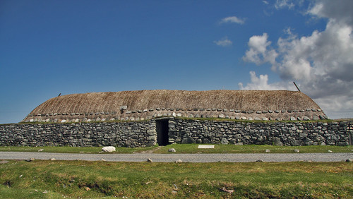 Traditional Hebridean Blackhouse, Arnol, Isle of Lewis