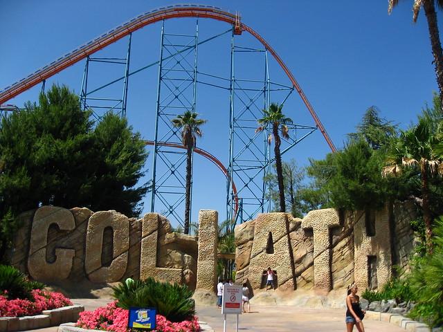 Six Flags Magic Mountain - Goliath   Explore SpokkerJones ...