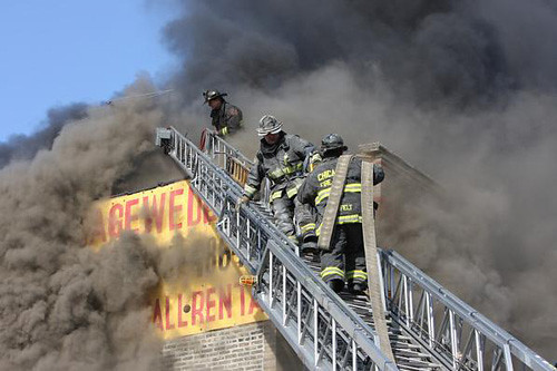 CFD Truck 35 Arial Operations