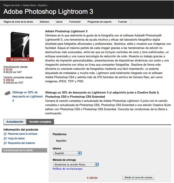 adobe lightroom purchase