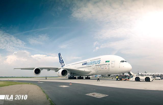 ILA 2010 - AIRBUS A380