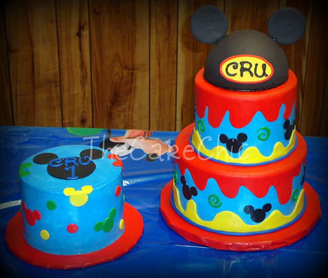 Mickey Mouse Smash Cake: Flickr - Photo Sharing