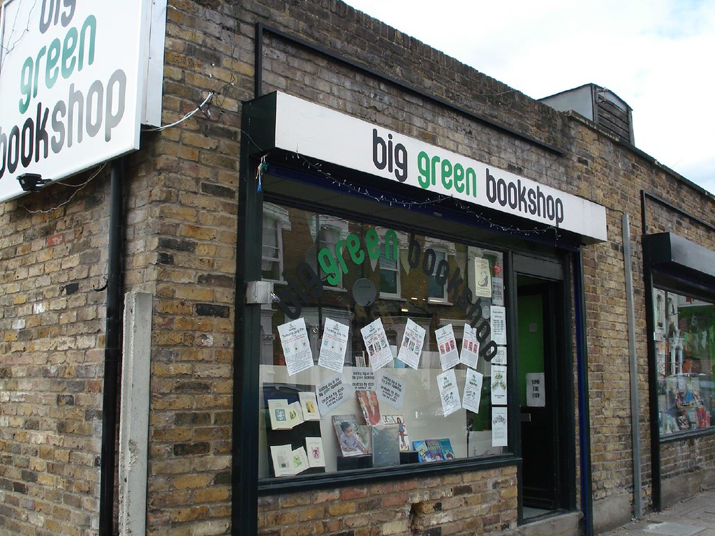 Big Green Bookshop in Wood Green
