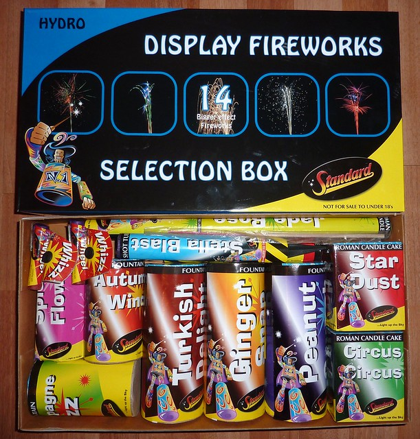 Standard Fireworks - Display fireworks selection box ...