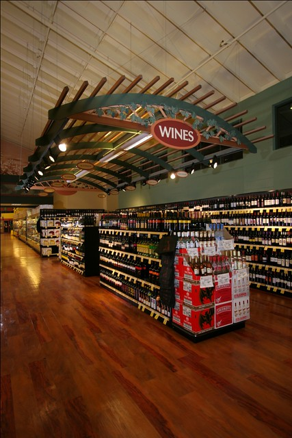 Grocery Store Winery | Interior Market Decor | Grocery ...