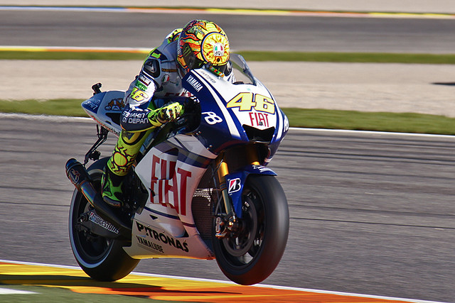 Valentino Rossi during the qualifying session  Flickr - Photo Sharing!