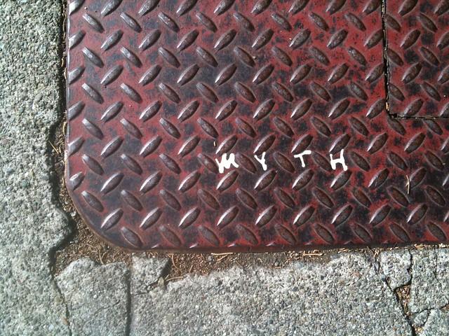 Myth graffiti