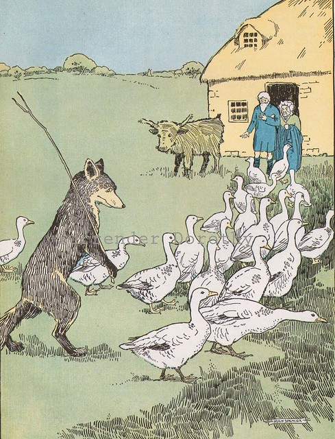 1926 Fox and Geese Hugh Spencer...