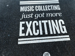 Music collecting poster