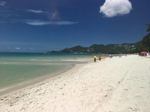 今日のサムイ島7月6日 チャウエンビーチを見てきました