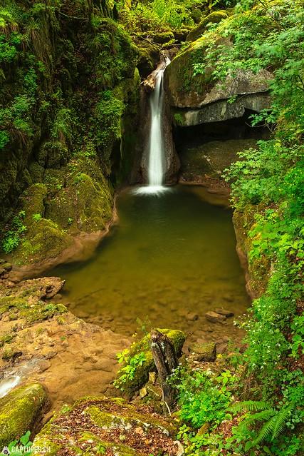 Waterfall - Twannbachschlucht