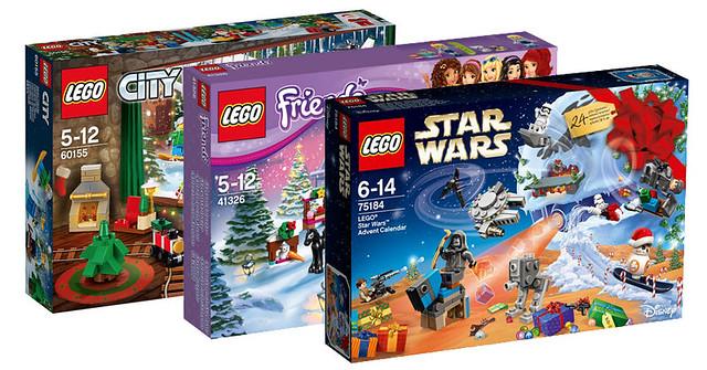 每天抽一個倒數聖誕節的來臨~LEGO 75184、60155、41326 聖誕抽抽樂系列 Advent Calendars 2017 登場!