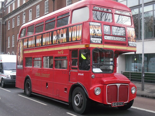 Routemaster on the Euston Road