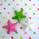 Dotty star decorations